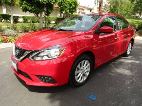 2018 Nissan Sentra for sale at E MOTORCARS in Fullerton CA
