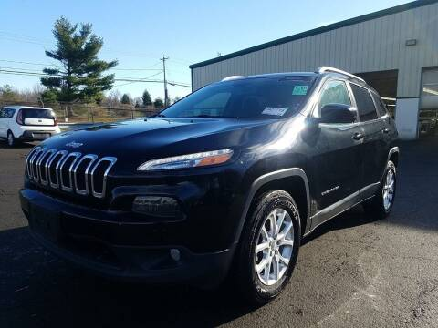 2018 Jeep Cherokee for sale at Riverside Auto Sales & Service in Portland ME