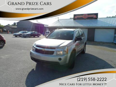 2008 Chevrolet Equinox for sale at Grand Prize Cars in Cedar Lake IN