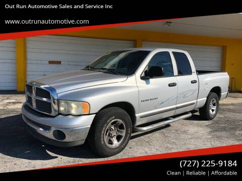 2002 Dodge Ram Pickup 1500 for sale at Out Run Automotive Sales and Service Inc in Tampa FL