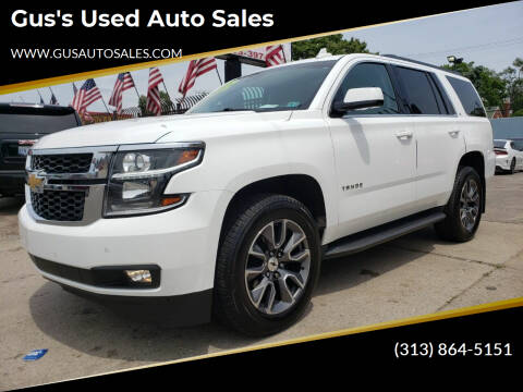 2015 Chevrolet Tahoe for sale at Gus's Used Auto Sales in Detroit MI