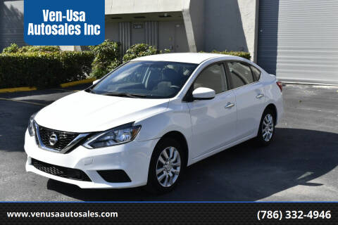 2018 Nissan Sentra for sale at Ven-Usa Autosales Inc in Miami FL