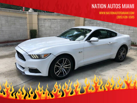 2017 Ford Mustang for sale at Nation Autos Miami in Hialeah FL