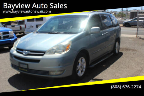 2005 Toyota Sienna for sale at Bayview Auto Sales in Waipahu HI