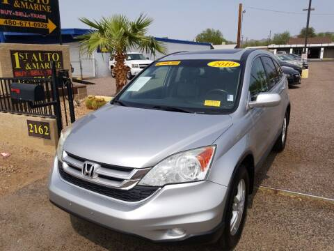 2010 Honda CR-V for sale at 1ST AUTO & MARINE in Apache Junction AZ
