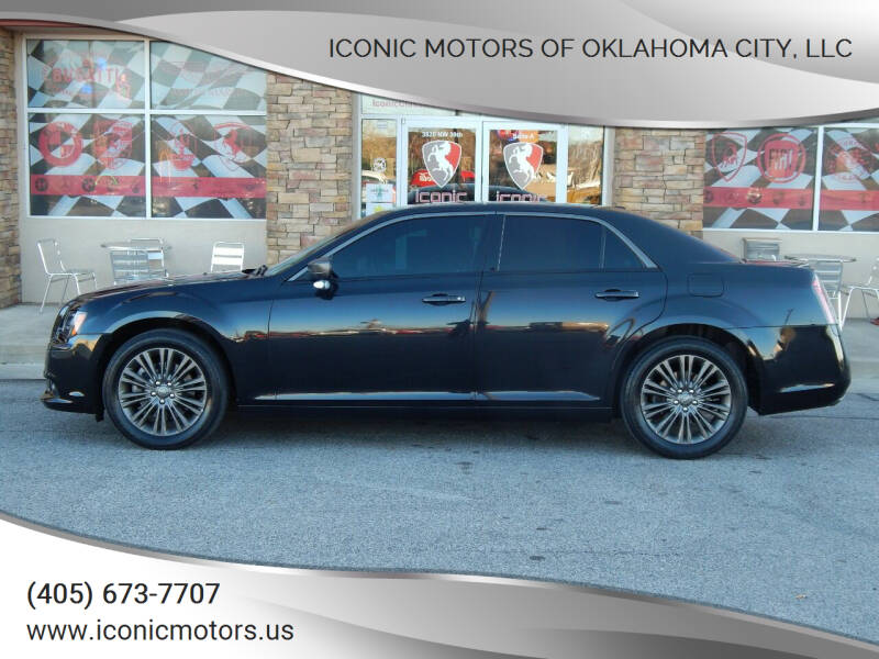 2014 Chrysler 300 for sale at Iconic Motors of Oklahoma City, LLC in Oklahoma City OK