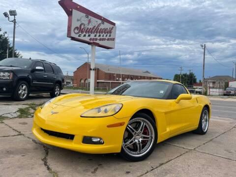 2012 Chevrolet Corvette for sale at Southwest Car Sales in Oklahoma City OK