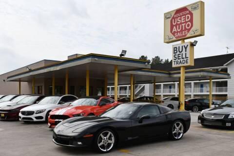 2007 Chevrolet Corvette for sale at Houston Used Auto Sales in Houston TX