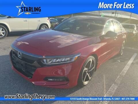 2020 Honda Accord for sale at Pedro @ Starling Chevrolet in Orlando FL