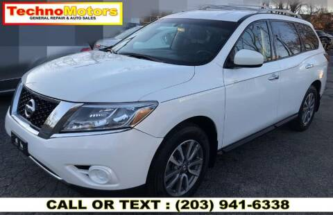 2014 Nissan Pathfinder for sale at Techno Motors in Danbury CT