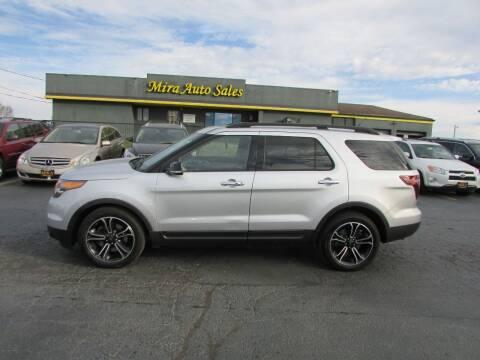 2013 Ford Explorer for sale at MIRA AUTO SALES in Cincinnati OH