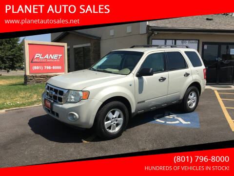 2008 Ford Escape for sale at PLANET AUTO SALES in Lindon UT