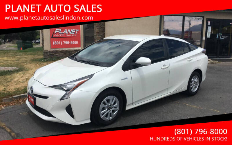 2016 Toyota Prius for sale at PLANET AUTO SALES in Lindon UT