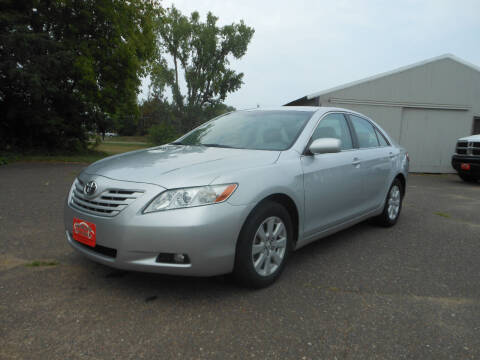 2007 Toyota Camry for sale at DANCA'S KAR KORRAL INC in Turtle Lake WI
