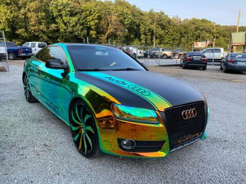 2010 Audi A5 for sale at Tennessee Valley Wholesale Autos LLC in Huntsville AL
