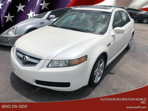 2006 Acura TL for sale at Outdoor Recreation World Inc. in Panama City FL