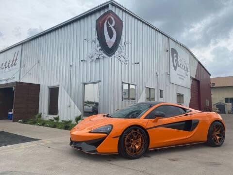2016 McLaren 570S for sale at Barrett Auto Gallery in San Juan TX