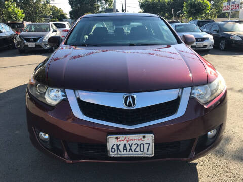 2010 Acura TSX for sale at EXPRESS CREDIT MOTORS in San Jose CA