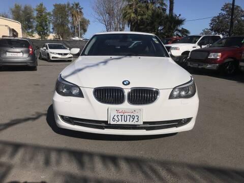 2009 BMW 5 Series for sale at EXPRESS CREDIT MOTORS in San Jose CA
