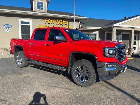 2018 GMC Sierra 1500 for sale at Fort Hays Auto Sales in Hays KS