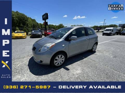 2007 Toyota Yaris for sale at Impex Auto Sales in Greensboro NC