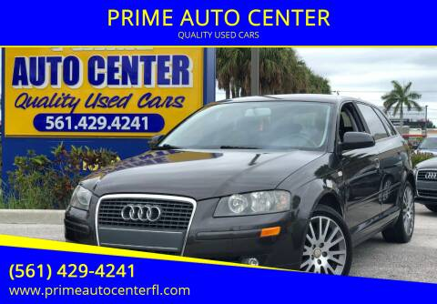 2008 Audi A3 for sale at PRIME AUTO CENTER in Palm Springs FL