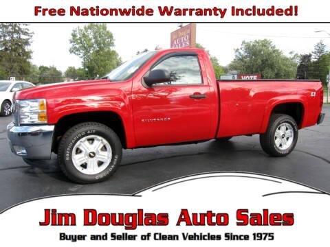 2012 Chevrolet Silverado 1500 for sale at Jim Douglas Auto Sales in Pontiac MI