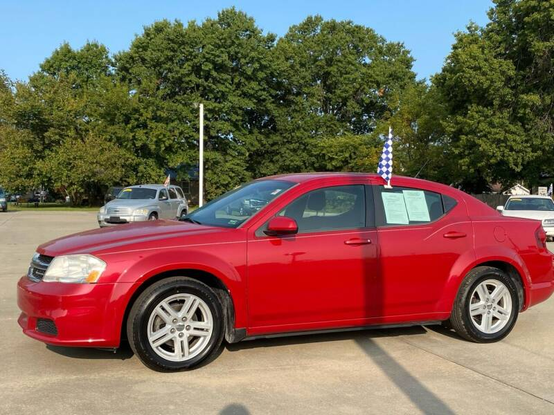 2011 Dodge Avenger for sale at Car Credit Connection in Clinton MO