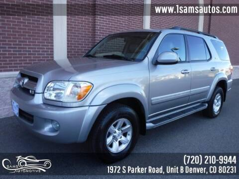 2005 Toyota Sequoia for sale at SAM'S AUTOMOTIVE in Denver CO