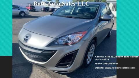 2011 Mazda MAZDA3 for sale at RABI AUTO SALES LLC in Garden City ID
