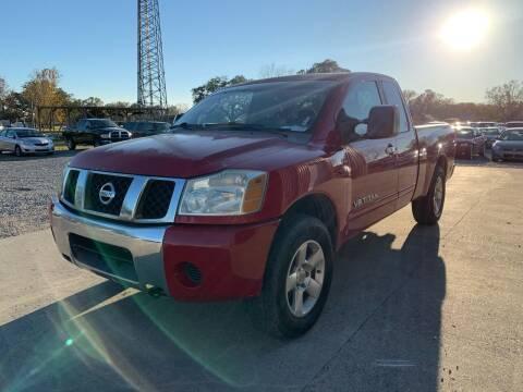 2006 Nissan Titan for sale at Bayou Motors Inc in Houma LA