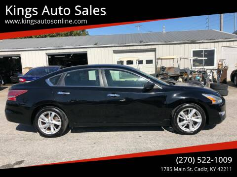 2013 Nissan Altima for sale at Kings Auto Sales in Cadiz KY