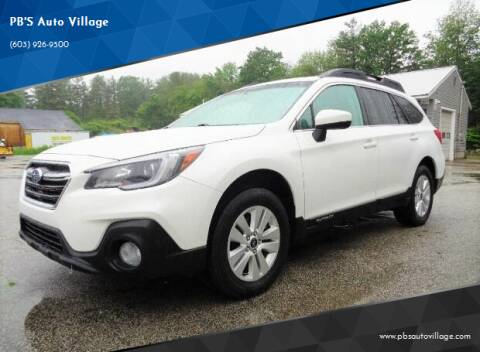 2018 Subaru Outback for sale at PB'S Auto Village in Hampton Falls NH