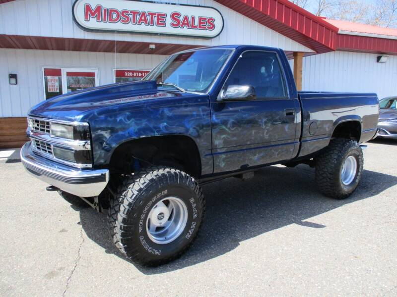 1993 Chevrolet C/K 1500 Series for sale at Midstate Sales in Foley MN