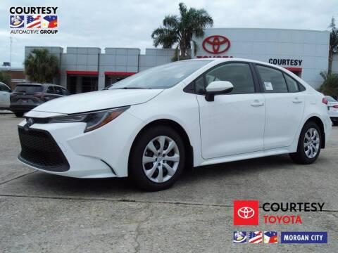 2021 Toyota Corolla for sale at Courtesy Toyota & Ford in Morgan City LA