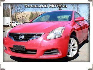 2011 Nissan Altima for sale at Rockland Automall - Rockland Motors in West Nyack NY