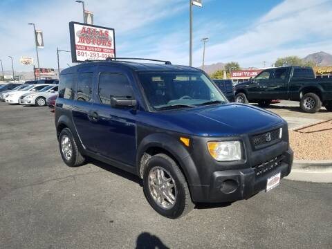 2003 Honda Element for sale at ATLAS MOTORS INC in Salt Lake City UT