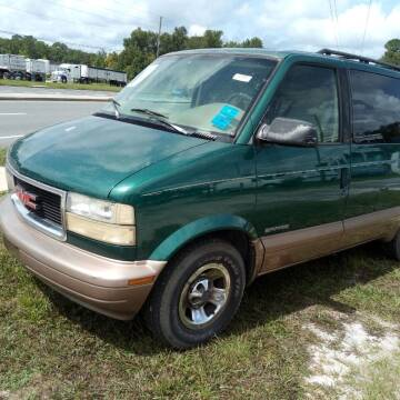 2001 GMC Safari for sale at MOTOR VEHICLE MARKETING INC in Hollister FL