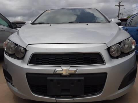 2012 Chevrolet Sonic for sale at Auto Haus Imports in Grand Prairie TX