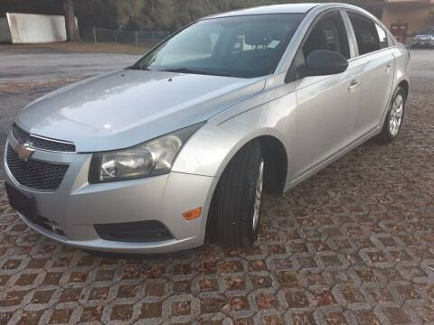 2012 Chevrolet Cruze for sale at Royal Auto Trading in Tampa FL