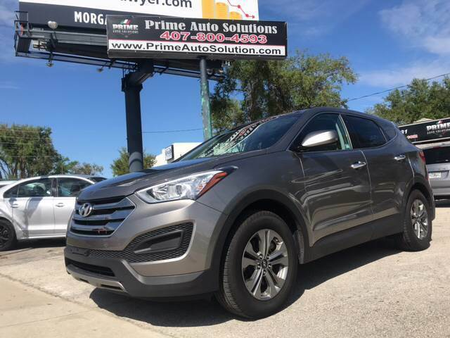2016 Hyundai Santa Fe Sport for sale at Prime Auto Solutions in Orlando FL