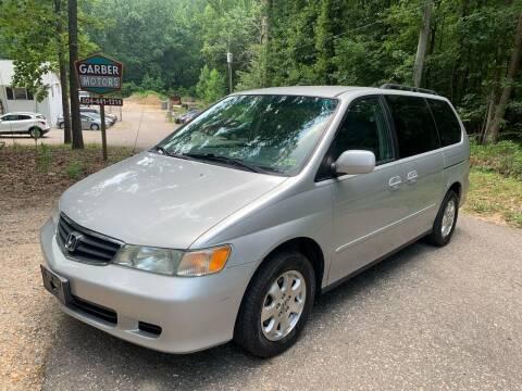 2004 Honda Odyssey for sale at Garber Motors in Midlothian VA