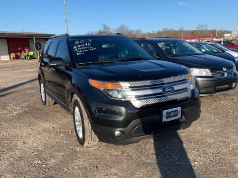 2013 Ford Explorer for sale at CAR CORNER in Van Buren AR