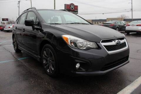 2012 Subaru Impreza for sale at B & B Car Co Inc. in Clinton Twp MI
