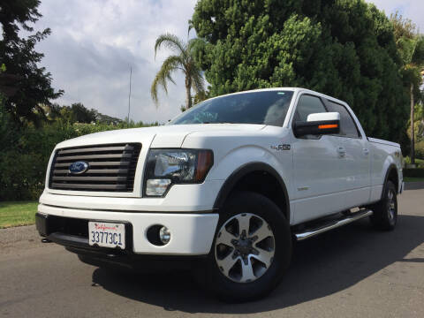 2012 Ford F-150 for sale at Valley Coach Co Sales & Lsng in Van Nuys CA