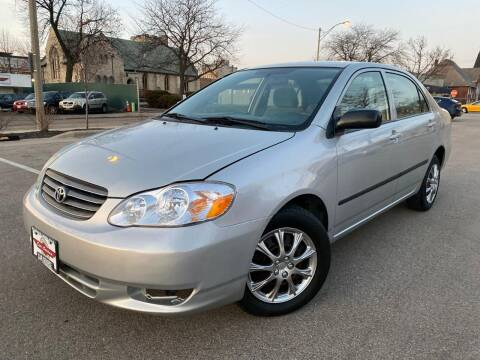 2003 Toyota Corolla for sale at Your Car Source in Kenosha WI