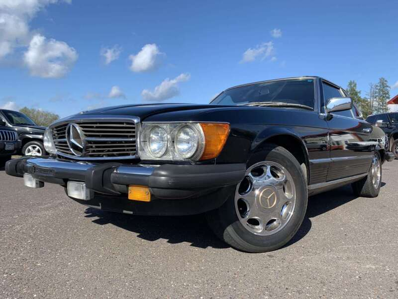 1983 Mercedes-Benz 380-Class for sale at Autobahn Sales And Service LLC in Hermantown MN