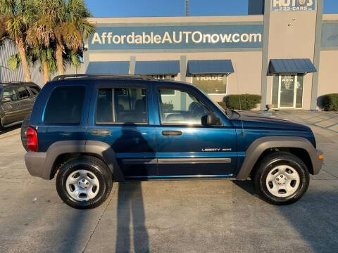 2003 Jeep Liberty for sale at Affordable Autos in Houma LA