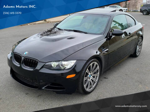 2011 BMW M3 for sale at Adams Motors INC. in Inwood NY