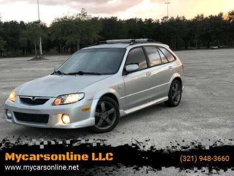 2002 Mazda Protege5 for sale at Mycarsonline LLC in Sanford FL